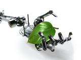robot protège la nature