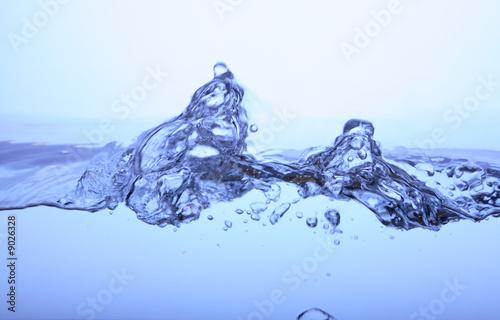 Leinwanddruck Bild Welle