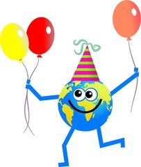 party globe