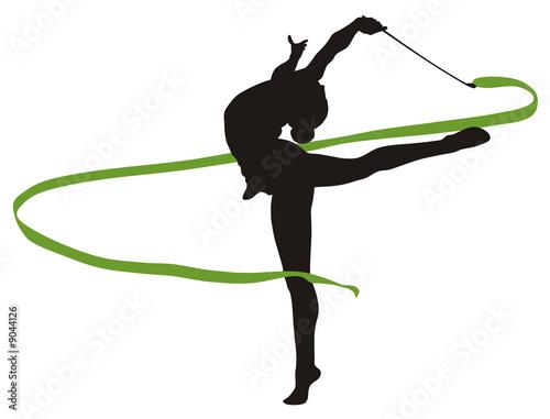 poster of rhythmic gymnastic