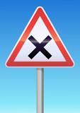 Intersection avec priorité à droite poster