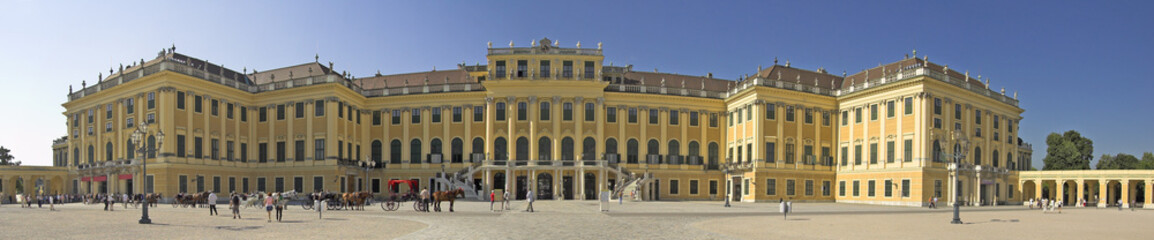 Schonbrunn Palace, Vienna.