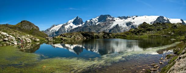 Lac Lérié et la Meije (Plateau d'Emparis)
