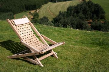 Chaise longue en bois #2