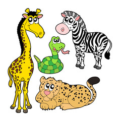 Zoo animals collection 2