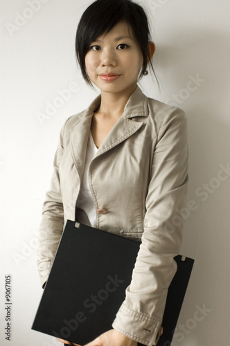 Young Asian education / business women