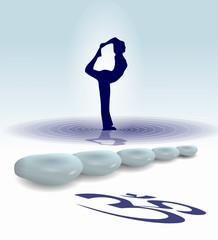 Yoga galet zen