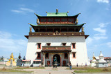 Gandan temple, Ulan Bator