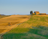 image of typical tuscan landscape poster