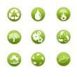 jeux icone bio vert