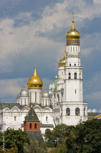 Church In Moscow Kremlin.
