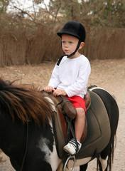 Leçon d'équitation #1