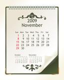 november 2009 poster