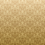 Floral inspired gothic repeat wallpaper design in gold poster