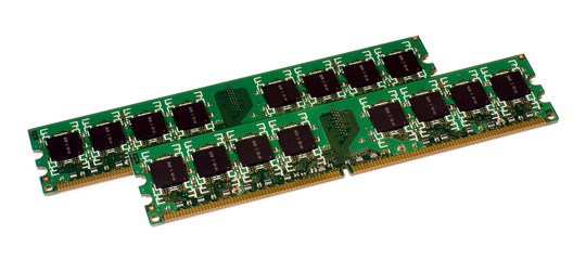 Two modules of the computer memory DDR2