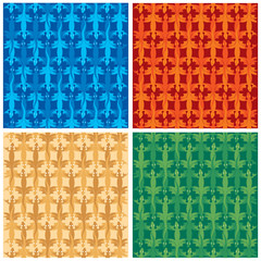 Lizards pattern