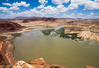 Hite Overlook Looking at Lake Powell