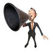 Speaker asiatique
