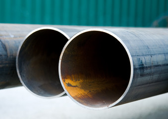 pipes close-up