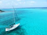 Fototapety Voilier en mer des Caraïbes