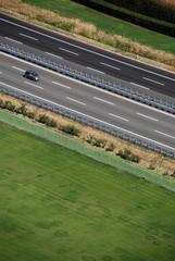 Autostrada dall'alto