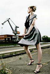 fashion at industrial park