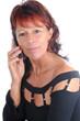 frau telefonieren handy mobiltelefon anruf