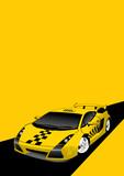 Fototapety Fantastic Taxi Car