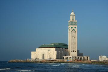 Famous Mosque in Casablanca