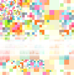 fond pixels multico