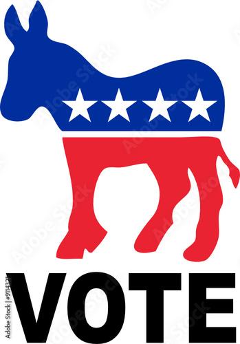 Democrat Donkey