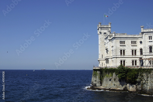 The Miramare Castle  is a 19th century castle