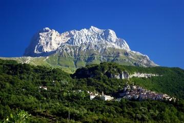 Gran Sasso; Corno Piccolo (2655 mt) e Pietracamela