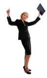 Successful businesswomen poster