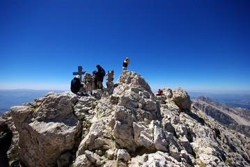 Gran Sasso: in cima al Corno Grande 2912 mt