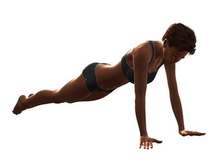 Fitness and exercise for Women.