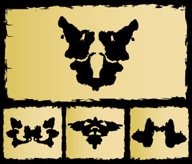 the test rorschach set image