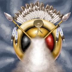 american native decoration