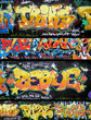 Quadro tags et graffitis