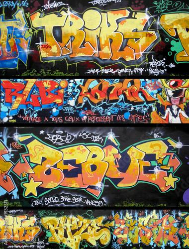 tags et graffitis