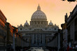 canvas print picture - St. Peters Basilica #2