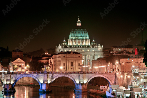 canvas print picture Rome Peters Dom