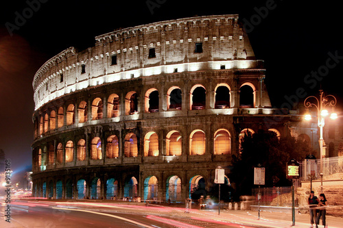 canvas print picture Coloseum