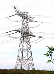 High tension masts