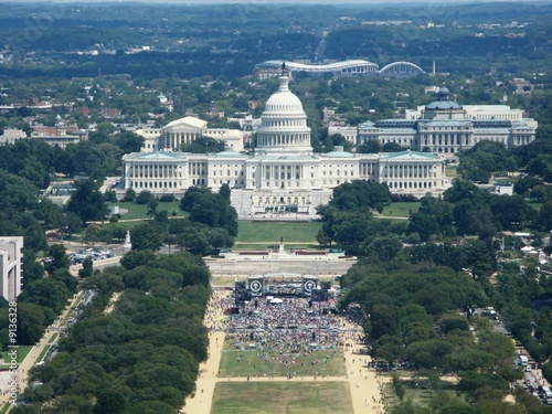 Washington Monument View - EAST / US Capitol