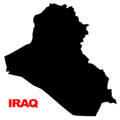 iraq map high resolution