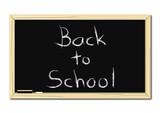School Blackboard poster