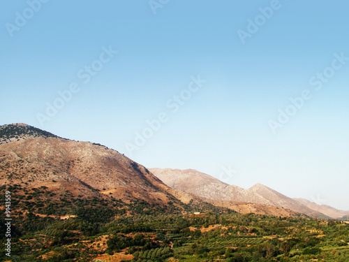 countryside in Crete