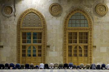 Muslims say prayes, Syria,  #3