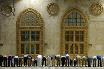Muslims say prayes, Syria,  #2